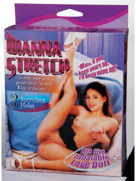Dianna Stretch Life Size Love Doll with 3 Penetrating Holes