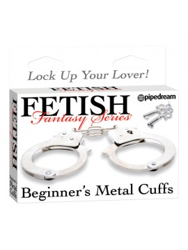 Fetish Fantasy Beginner's Metal Handcuffs ~ Metal