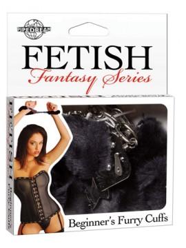 Fetish Fantasy Beginner's Furry Cuffs ~ Black